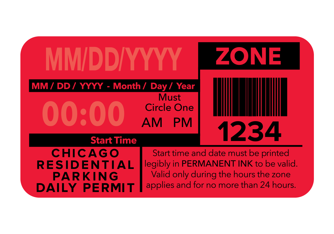Purchase your Chicago Residential Parking Daily Permits via EZ>BUY